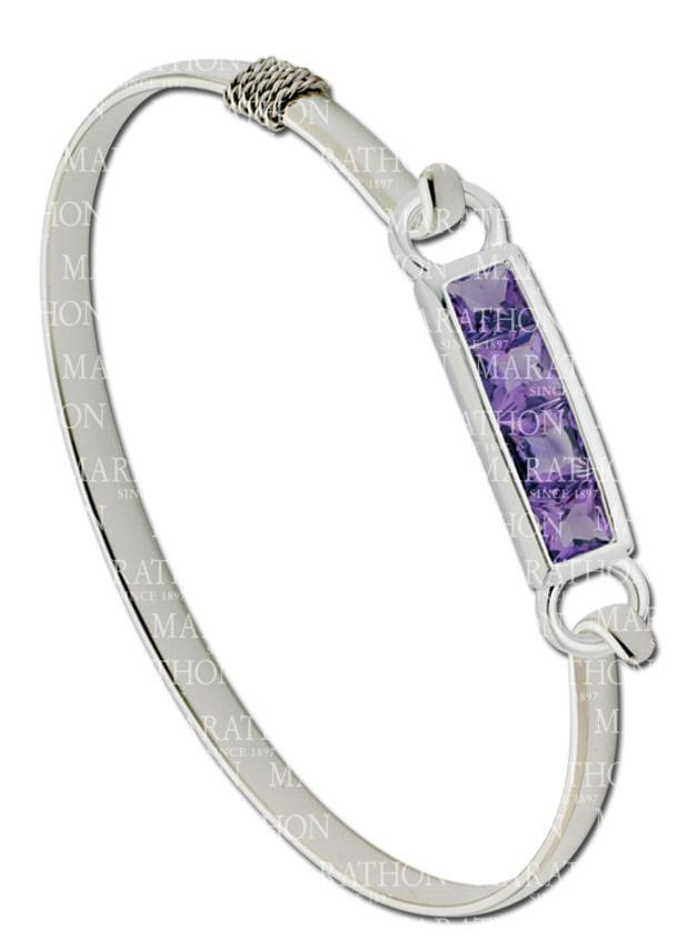 LeStage 4 of a Kind Amethyst Clasp
