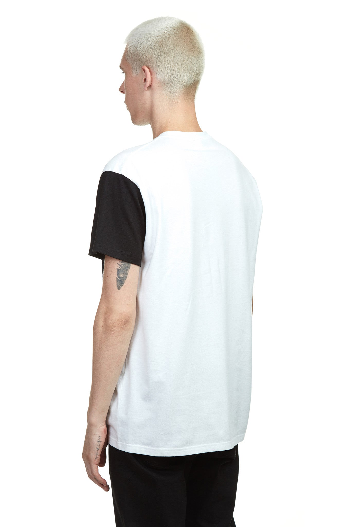 white t shirt with graphic art