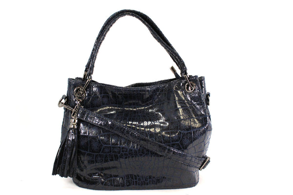 MANOCCHIO - NAVY CROCO - B205.168