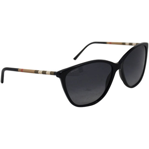 Burberry BE 4117 3001T3 Black Polarized