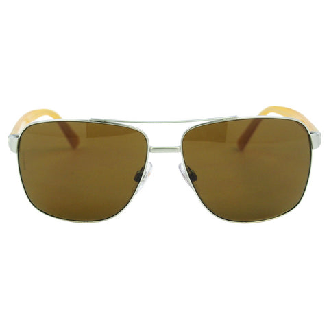 Dolce & Gabbana DG 2131 1242/73 - Matte Silver Yellow/Brown