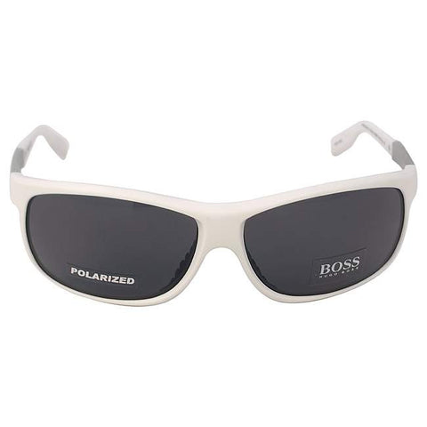 Hugo Boss Boss 0522/S AMOTD - Matte White Polarized