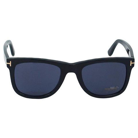 Tom Ford TF336 Leo 01V - Shiny Black/ Blue