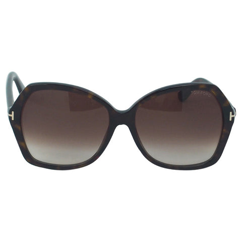 Tom Ford TF328 Carola 52F - Dark Havana