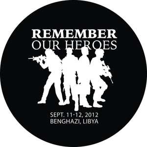 Remember Our Heroes Sticker - John Tiegen