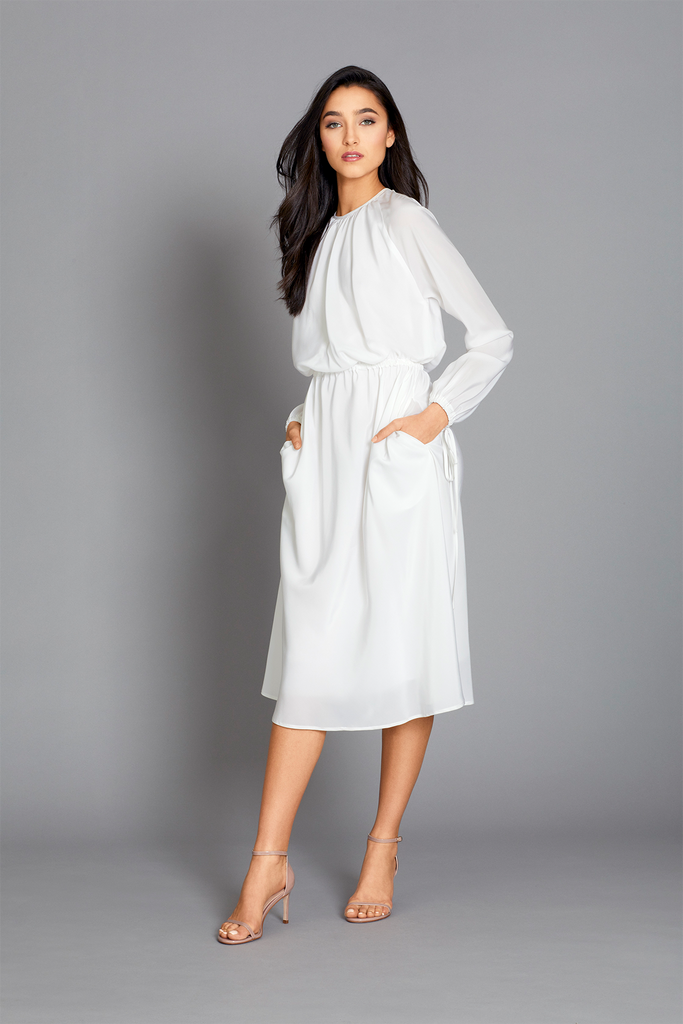 Annis Dress in White