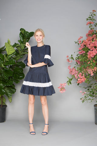 Amelia Off-the-Shoulder Ruffle Dress