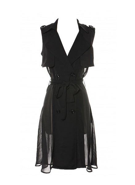 VERONICA SLEEVELESS COAT