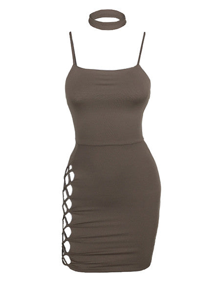 APRIL BODYCON TANK DRESS
