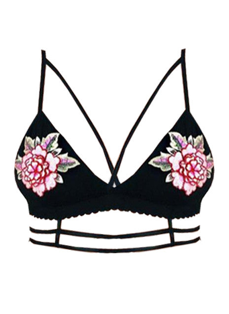 ROSA BRALETTE CROP TOP