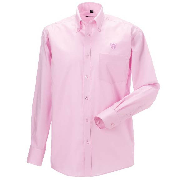 Men's Long Sleeve Cotton Oxford shirt