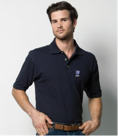Men's Double Pique Polo Shirt