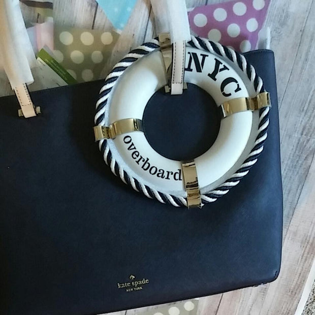0df965118dc703 Kate Spade New York Expand Your Horizons Life Preserver Overboard