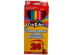 Coloured Pencils 24pk. Cra-z-art