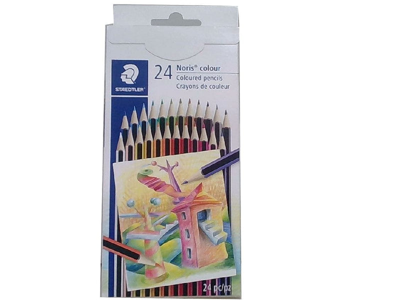 Coloured Pencils 24pk. Noris Colour Staedtler