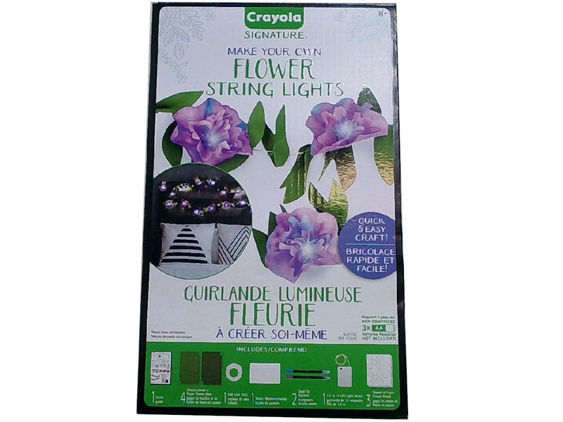 Flower String Lights Make Your Own Crayola Signature