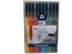 Markers Triplus Color 10pk. 1.0mm Staedtler