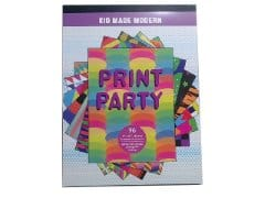 "Paper Craft 96 Sheets 9""x12"" Print Party"