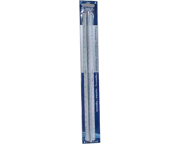 "Scale Triangular 12"" Professional Engineering Staedtler"