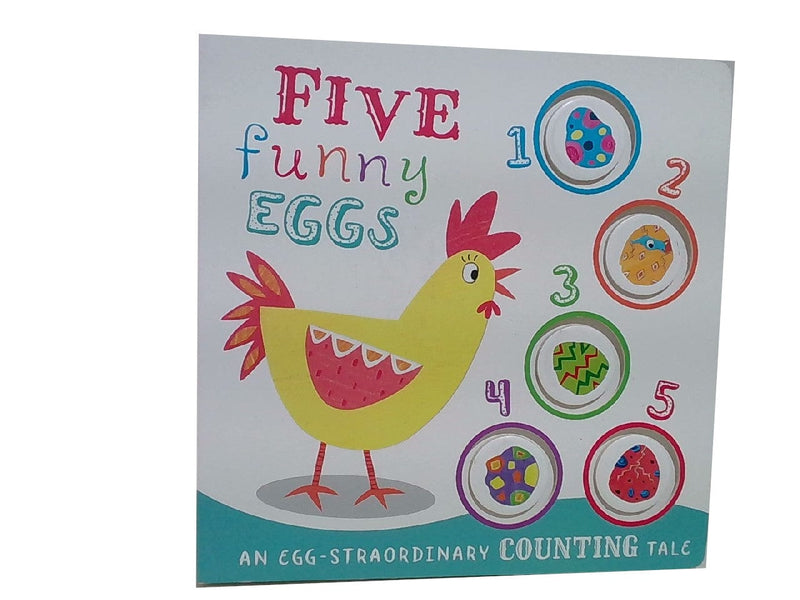 Book Kids Five Funny Eggs