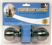 privacy lock pewter