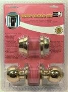 entry combo set solid brass