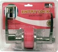 entry lock lever stainless steel