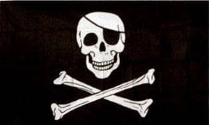 "Flag 36""x60""-Jolly Roger (Pirate)"