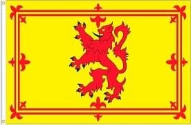 "Flag 36""x60""-Scotland (Lion - yellow)"