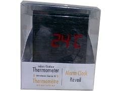 Alarm Clock Wireless USB w/Indoor/Outdoor Thermometer Bios