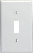 Wallplate Switch 1 gang white