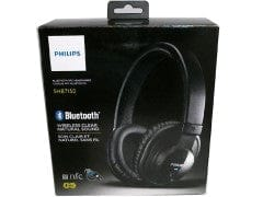 Headphones Wireless Bluetooth w/Mic Large Philips