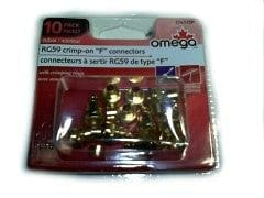 "Connector ""F"" RG59 10pk."