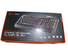 Keyboard Programmable Gaming 16.8 Million Colours Blackweb