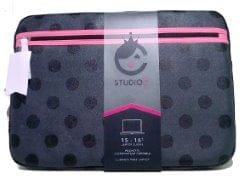 "Laptop Sleeve 15""-16"" Hot To Trot Dots Studio C"