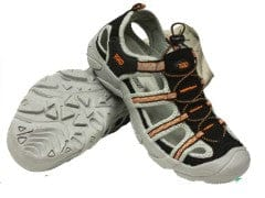 Water hikers mens size 9 rockwater designs black and orange
