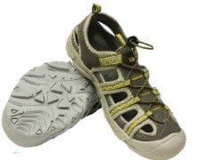 Water hikers mens size 9 rockwater designs grey and yellow