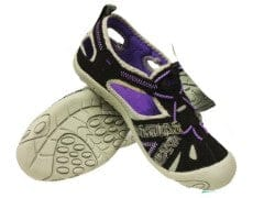 Water hikers womens size 5 rockwater designs black and mauve