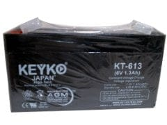 Battery 6V 1.3ah Sla Keyko Japan