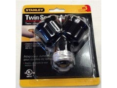 Adapter Twin Socket