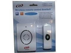 Doorbell wireless 1 switch 1 chime multiple melodies