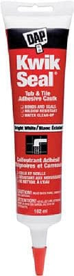 kwik seal tub & tile caulk white 162ml