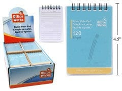 Note Pad Ruled 120 pages Desk Tech