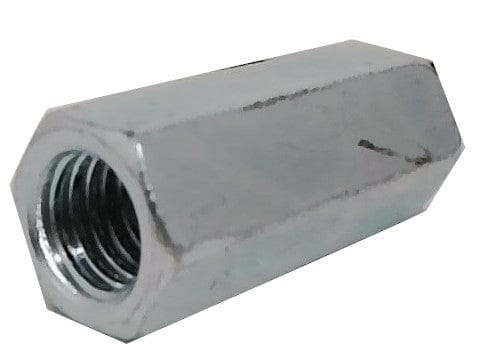 "Coupling Nut 1/2""-13 X 1-3/4"" For Threaded Rod"