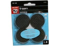 "Grippers 8pk 1-1/2"" Black Bulldog"