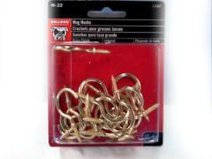 "Hook Mug 1-1/4"" 20pk. Bulldog"