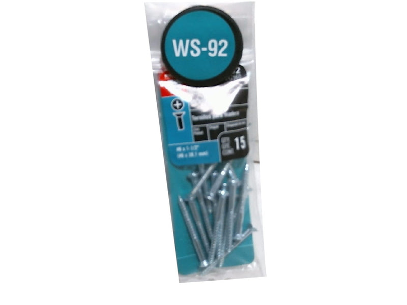 Screws Wood 15pk