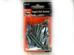"Toggle Bolt Anchor 1/8""x2"" 16pk. Bulldog"