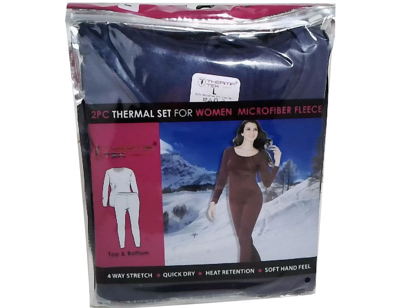 Thermal Base Layer Set 2pc. Ladies Therma Tek Ass't