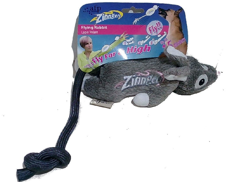 Dog Toy Flying Rabbit Zinngers Afp